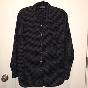 LAUREN RALPH LAUREN DRESS SHIRT PLUS SZ 2X LS